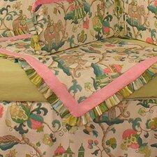 Cirque Pink Crib Blanket
