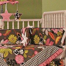 Sleek Slate Crib Bumper
