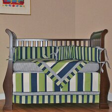 Lacrosse 4 Piece Crib Bedding Set