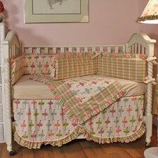 Ballerina 4 Piece Crib Bedding Set
