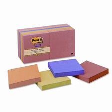 Farmers Market Super Sticky Note Pad, 12 Pack