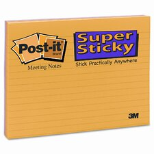 Super Sticky Large Format Note Pad, 4 Pack