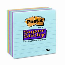 Super Sticky Note Pad, 6 Pack