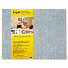 Frameless Display Wall Mounted Bulletin Board, 2' x 2'