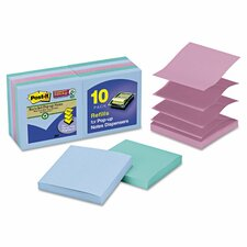 Pop-Up Notes Super Sticky Refill Pad (Set of 10)