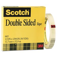 "0.5"" x 36 Yards Double Sided Office Tape"