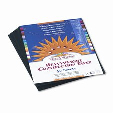Construction Paper, 9 X 12, 50 Sheets (Set of 4)