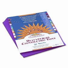 Sunworks Construction Paper, 58 Lbs., 9 X 12, 50 Sheets/Pack (Set of 4)