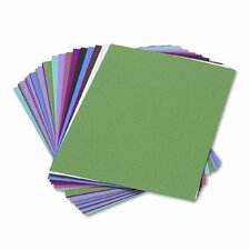 Construction Paper,  58 Lbs.,9 X 12, 50 Sheets (Set of 4)