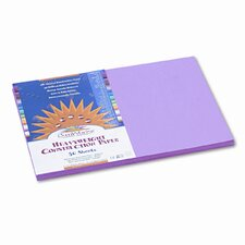 SunWorks Construction Paper, Heavyweight, 12 x 18, Pink, 50 Sheets (Set of 2)
