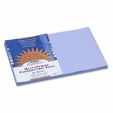 SunWorks Construction Paper, Heavyweight, 12 x 18, Lilac, 50 Sheets (Set of 2)