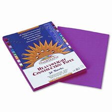 Construction Paper, 50 Sheets (Set of 4)