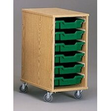 Encore Mobile Tray Cart without Doors