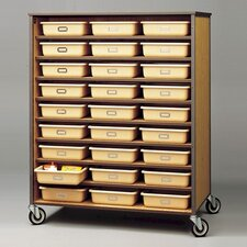 54 Tray Double Sided Storage Cart
