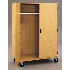 "Encore 68"" H x 48"" W x 24"" D Mobile Wardrobe"