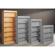 "Library Double Sided 82"" Standard Bookcase"
