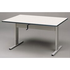 "Accessible 60"" x 42"" Rectangular Classroom Table"