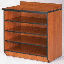"Illusions 36"" Base Shelf Cabinet without Doors"