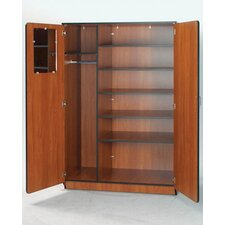 "Illusions 72"" H Teacher Wardrobe with Five Adjustable Shelves"