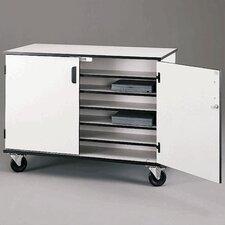 36-Compartment Laptop Storage Cart