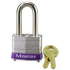 Master Lock Long-shackle Padlock, Steel gray
