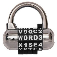 Password Plus Combination Lock (Assorted Colors)