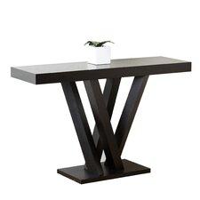 Kinlin Espresso Wood Sofa Table