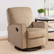 Ravenna Fabric Swivel Glider