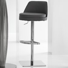 Dante Adjustable Height Swivel Barstool with Cushion