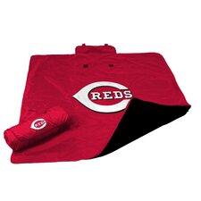 MLB Cincinnati Reds All Weather Fleece Blanket