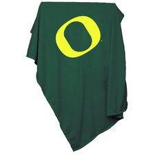 NCAA University of Oregon Sweatshirt Blanket