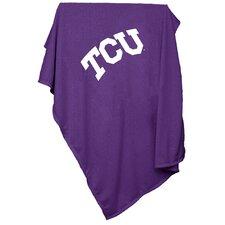 NCAA Texas Christian University Sweatshirt Blanket