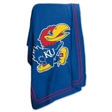NCAA University of Kansas Classic Fleece Throw