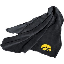 NCAA Iowa Fleece Throw