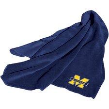 NCAA Michigan Fleece Throw