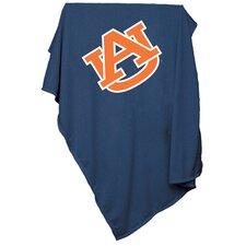 NCAA Auburn Sweatshirt Blanket