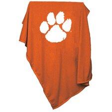 NCAA Clemson Sweatshirt Blanket