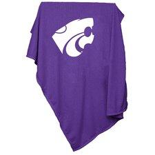 NCAA Kansas State Sweatshirt Blanket