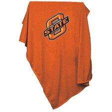 NCAA Oklahoma State Sweatshirt Blanket