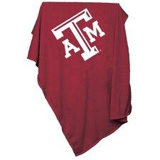 NCAA Texas A&M Sweatshirt Blanket