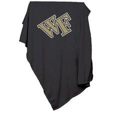 NCAA Wake Forest University Sweatshirt Blanket