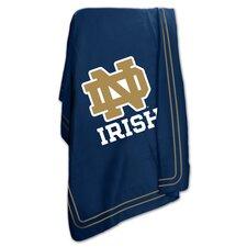 NCAA Notre Dame Classic Fleece Throw