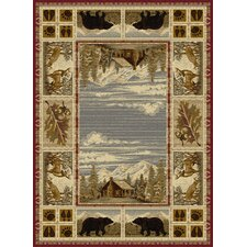 Nature Beige Area Rug