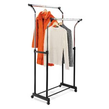 Flared Double Garment Rack