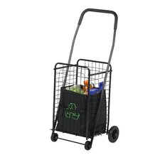 "37.5"" Rolling Shopping Cart"