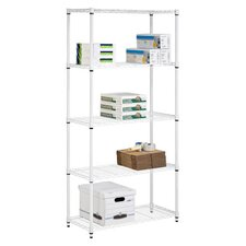 "Storage 72"" H 5 Shelf Shelving Unit"