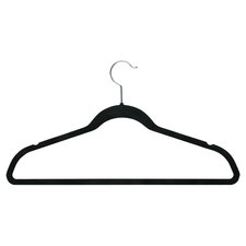 Wayfair Basics Black Velvet Suit Hanger (Set of 50)
