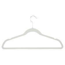 Velvet Touch Suit Hanger in Ivory (Set of 50)
