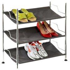 3 Tier Canvas Shoe Rack