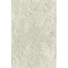 Soft Shaggy White Indoor Area Rug
